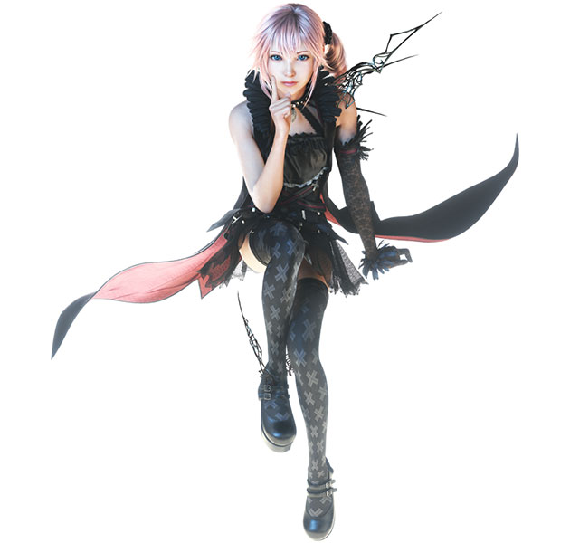 Lumina Lightning Returns Final Fantasy XIII 01