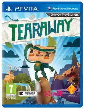 Tearaway PAL cover 2