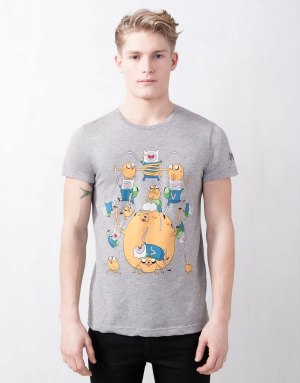 camiseta hora de aventuras pull bear 02
