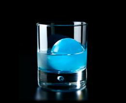 materia azul coctel