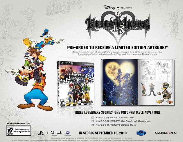 Kingdom Hearts HD 1 5 Remix reserva NA