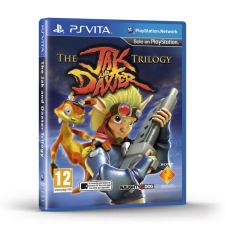 jak daxter trilogy ps vita cover