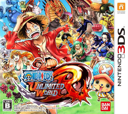 One Piece Unlimited World R cover JP