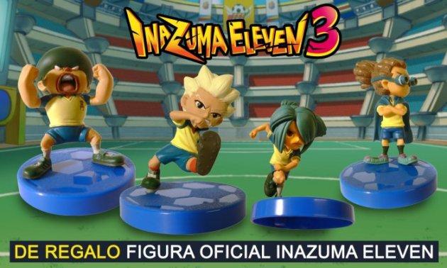 figura inazuma eleven 3ds