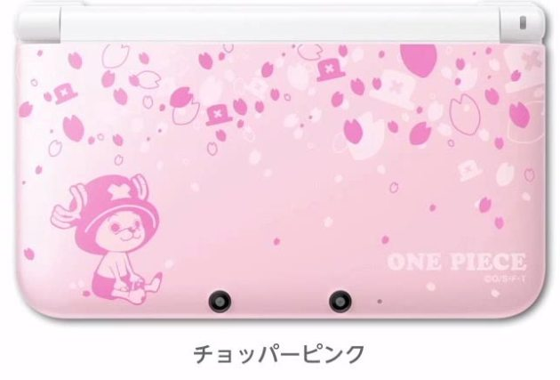 nintendo-3ds-xl-one-piece-chopper-pink