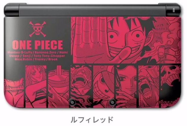 nintendo-3ds-xl-one-piece-luffy-red