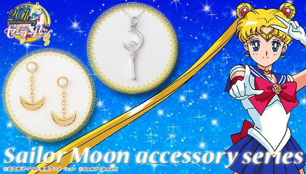 sailor moon pendientes