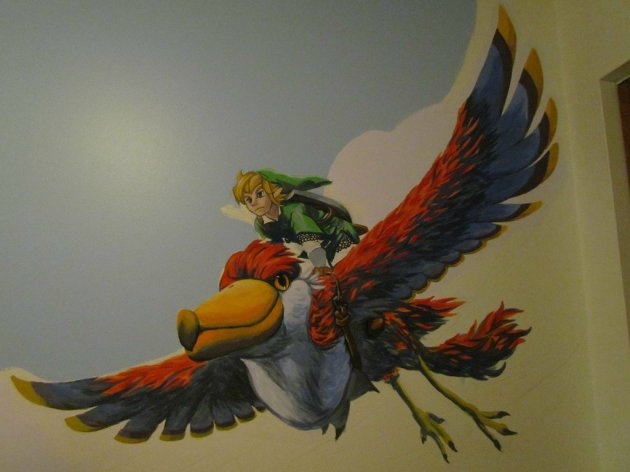 Zelda Skyward Sword pintura 13