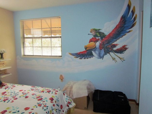 Zelda Skyward Sword pintura 30
