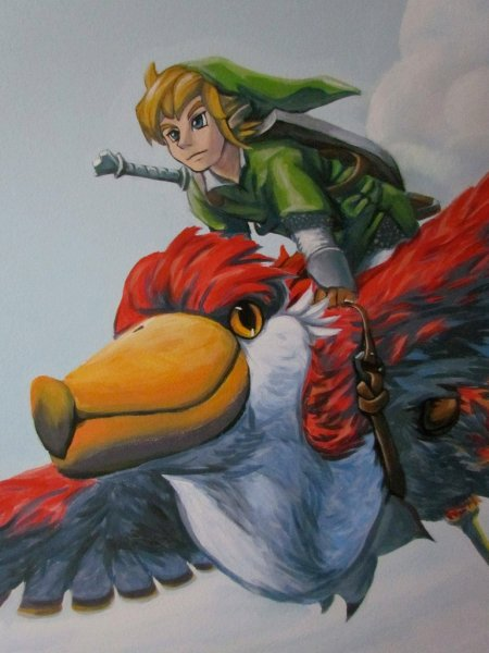 Zelda Skyward Sword pintura 37