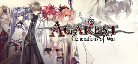 agarest generations of war logo
