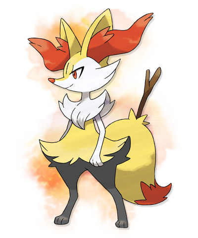 braixen pokemon x y 01