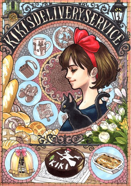 Kiki-Art-Nouveau