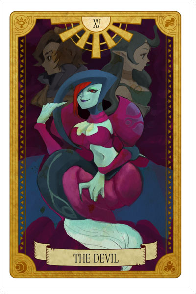 Tarot-Zelda-Devil-2