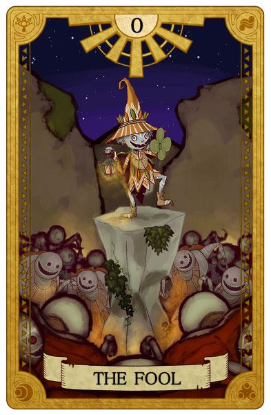 Tarot-Zelda-Fool