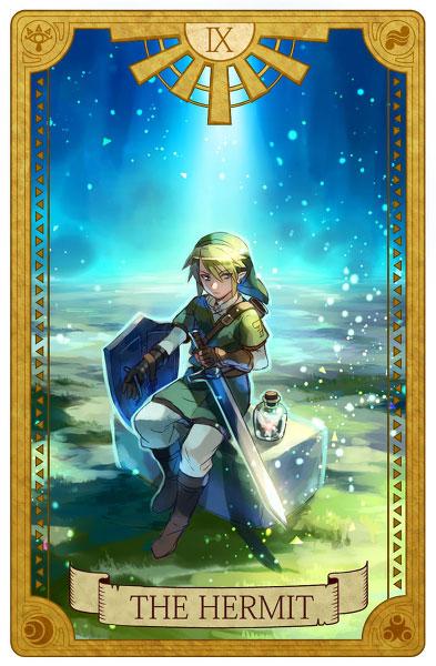 Tarot-Zelda-Hermit