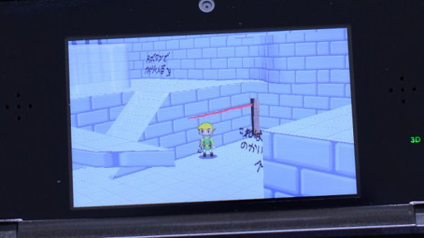 Zelda Link Between Worlds desarrollo