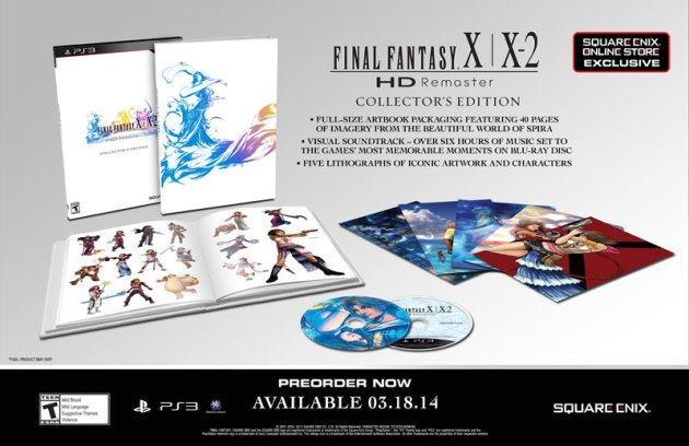 Final Fantasy X X2 Collectors