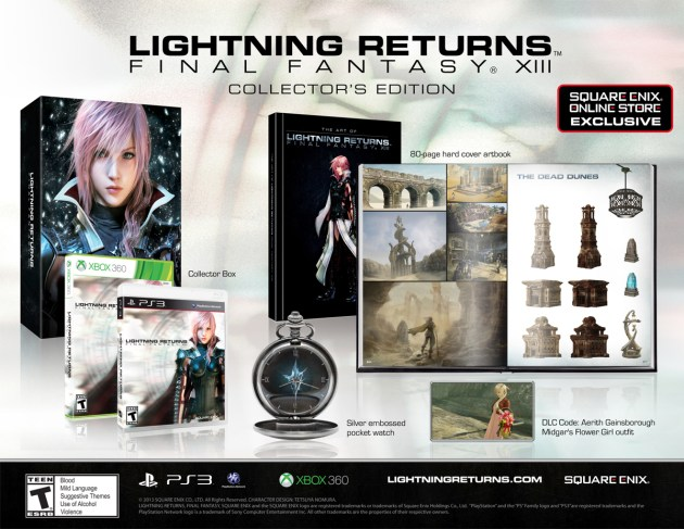 Lightning Returns Final Fantasy XIII coleccionista NA