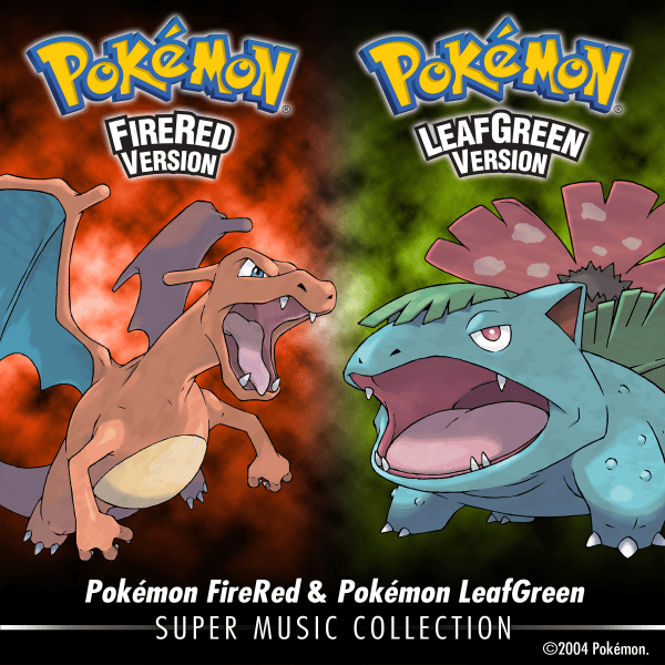 Pokemon Firered Leafgreen Super Music Collection