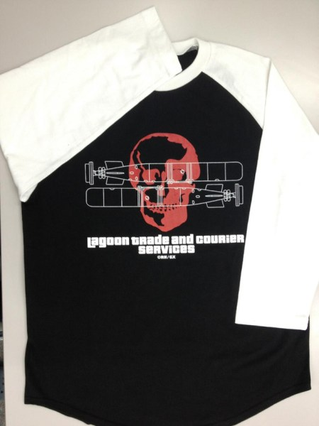 black lagoon camiseta