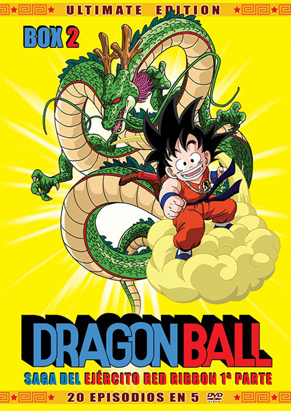 Dragon Ball Box 2 Selecta Vision portada