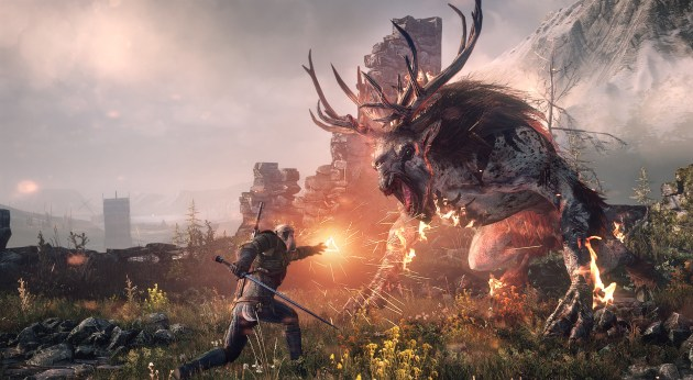the witcher 3 wild hunt battle