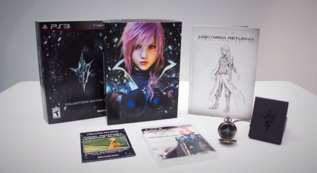 Lightning Returns coleccionista unboxing