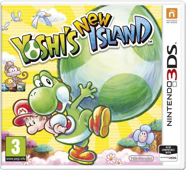 Yoshis New Island PAL Cover