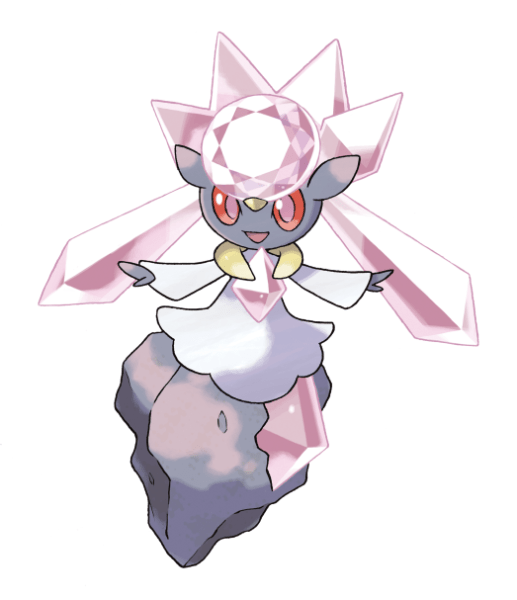 Diancie Pokemon X Y