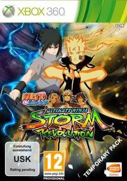 Naruto Shippuden Ultimate Ninja Storm Revolution PAL cover xbox 360