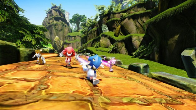 Sonic Boom Team Gameplay