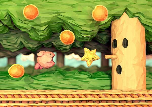 Kirby NES Origami