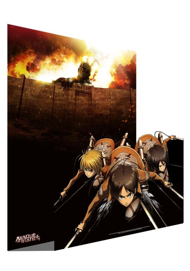 mural ataque titanes selecta