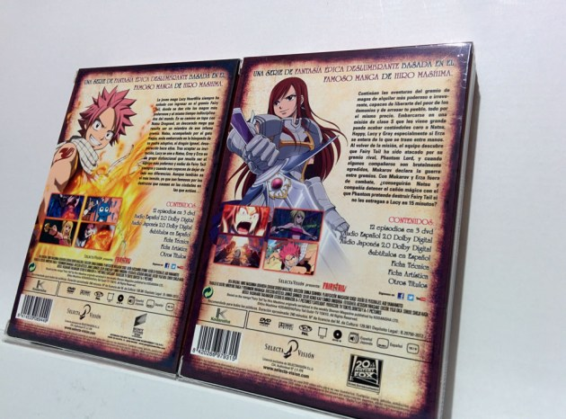 fairy tail dvd selecta vision 4