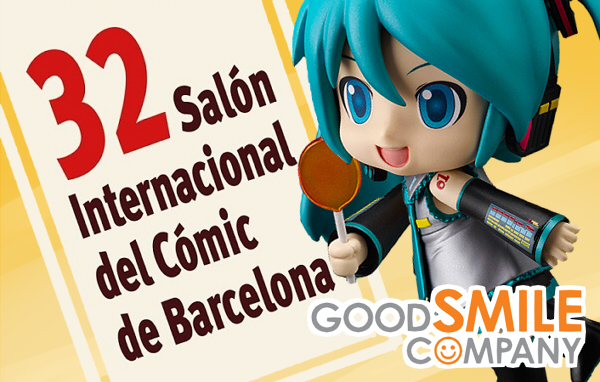 Good Smile Company 32 salon comic barcelona