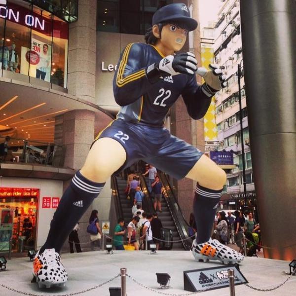 Captain Tsubasa statue 04