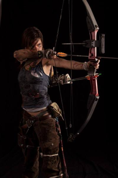 Lara croft 2013 cosplay