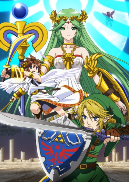 Palutena Super Smash Bros 3DS Wii U 01