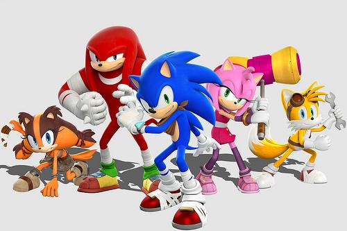 Sonic Boom heroes