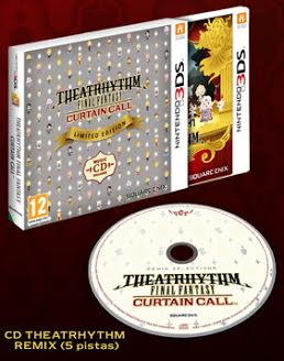 Theatrhythm final fantasy curtain call edicion limitada