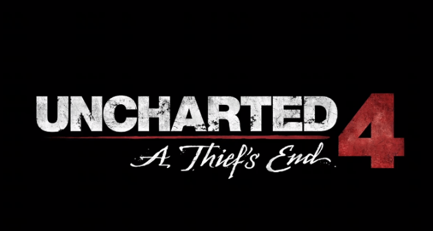 Uncharted 4 A thief end logo