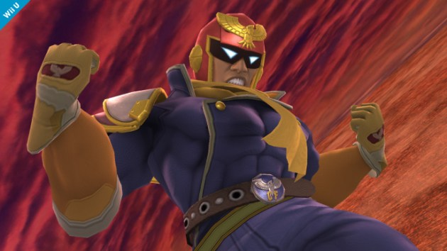 Captain Falcon Smash Bros 3DS Wii U 03