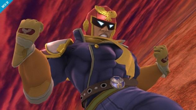 Captain Falcon Smash Bros 3DS Wii U 03