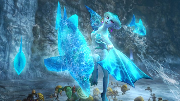 Princesa Ruto Hyrule Warriors 04