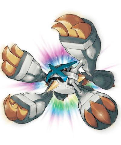 Mega Metagross Variocolor 00