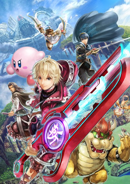 Shulk Super Smash Bros 02