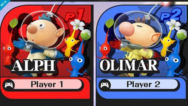 Alph Super Smash Bros menu
