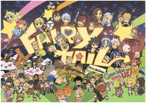 Fairy Tail concurso fanart
