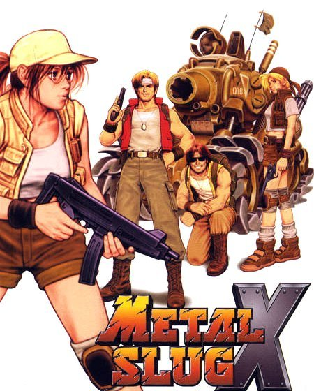 Metal Slug X Steam